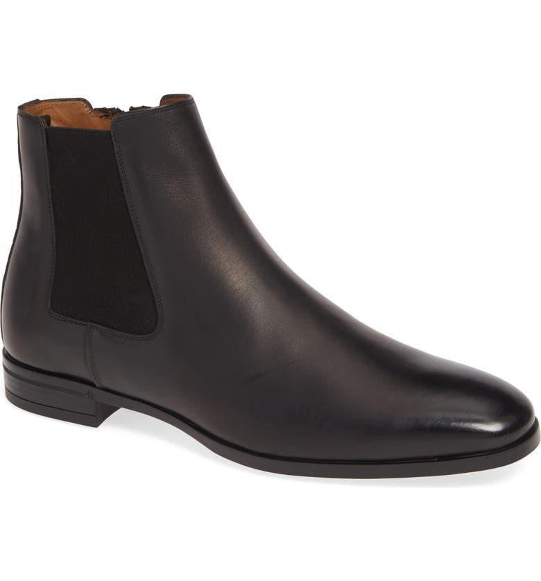 BOSS Portland Chelsea Boot, Main, color, BLACK
