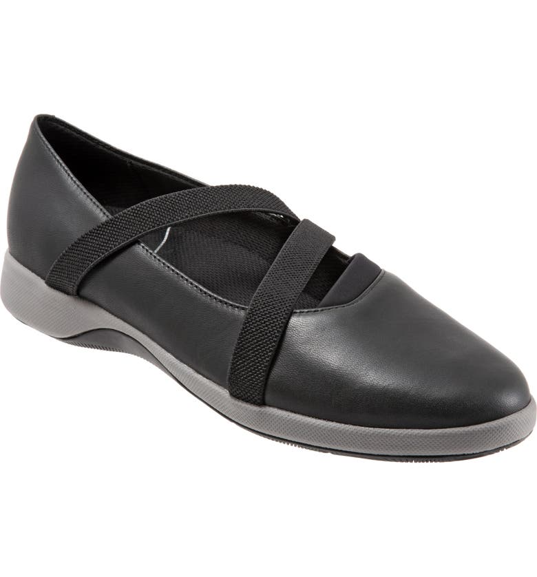 SOFTWALK<SUP>®</SUP> Haely Mary Jane, Main, color, BLACK LEATHER