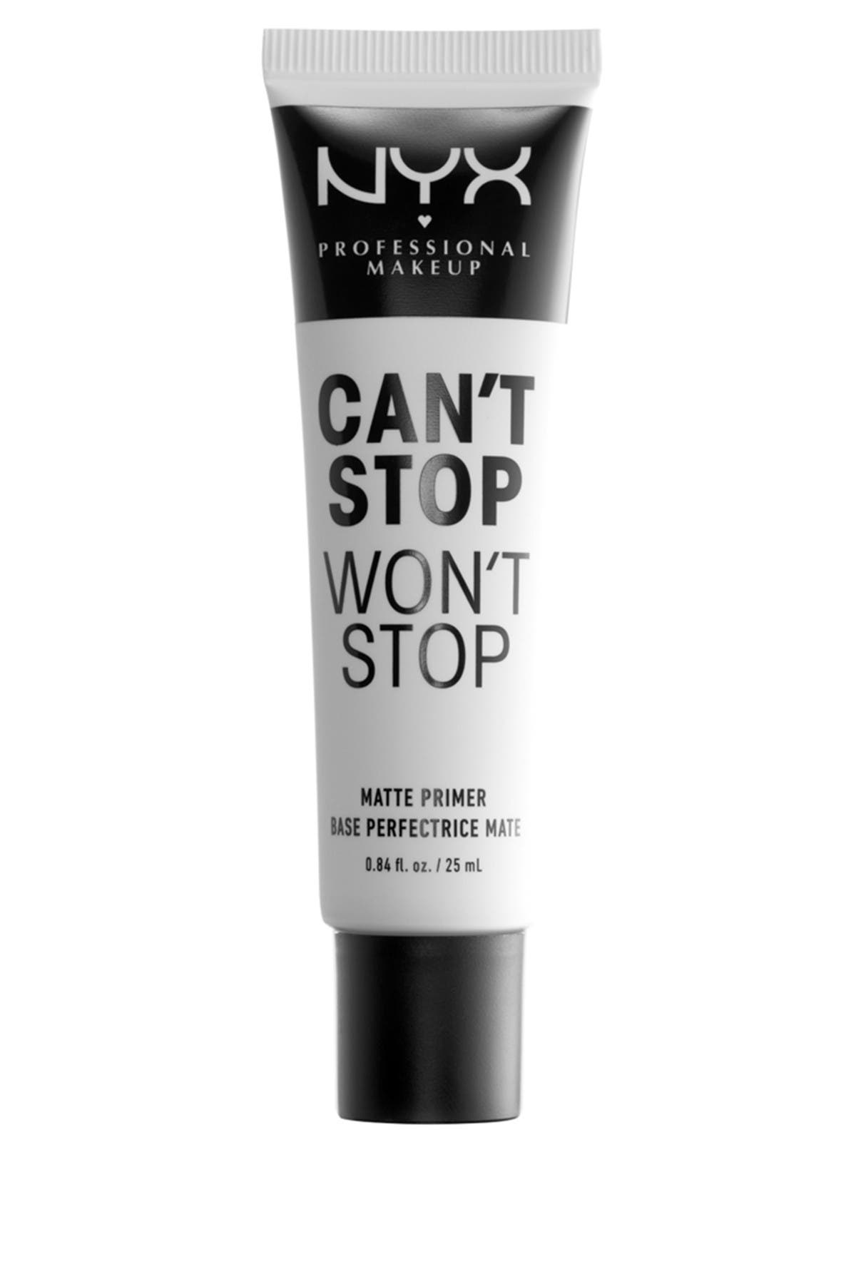 Image of NYX COSMETICS Can't Stop Won't Stop Matte Primer