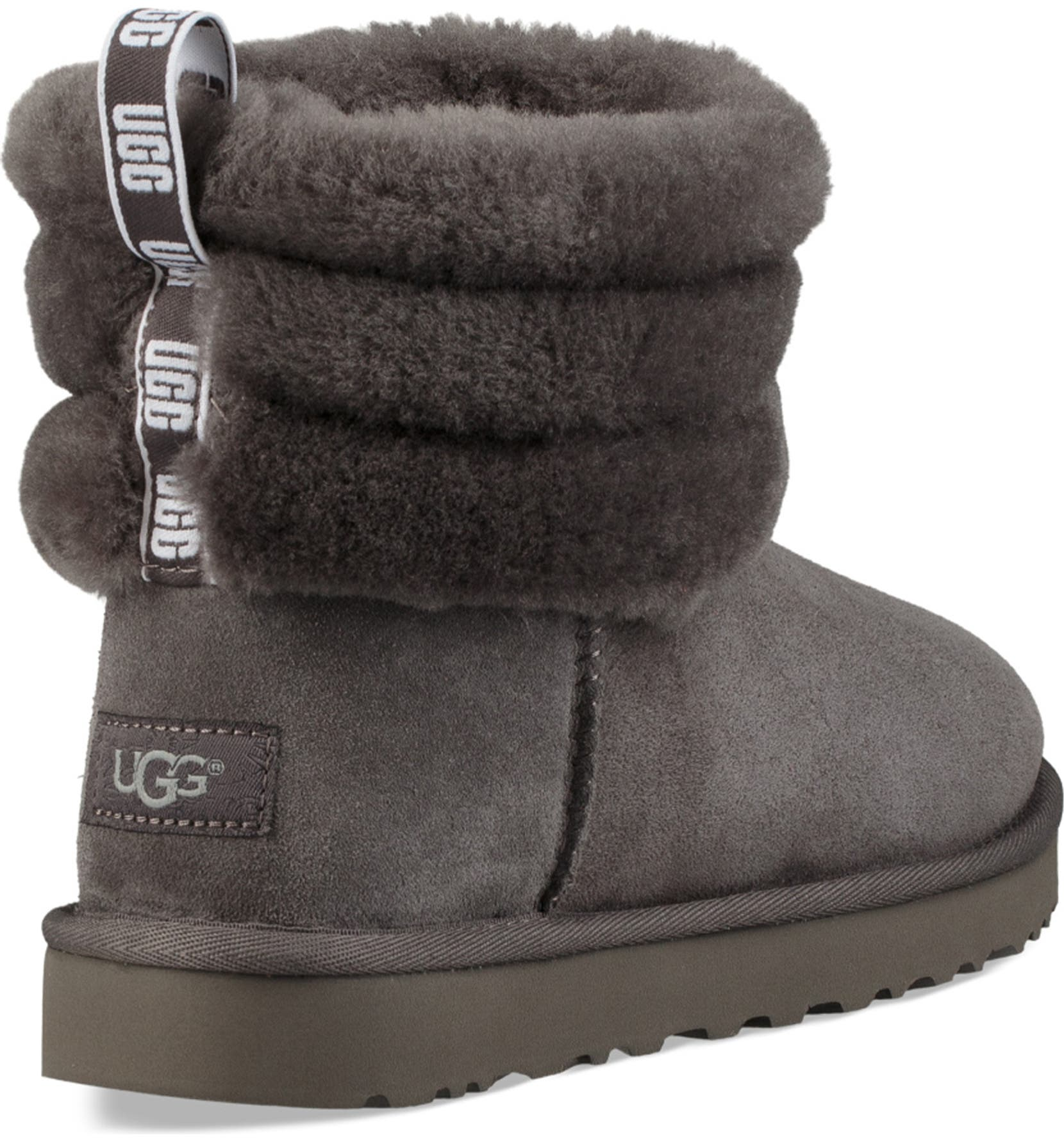 07cf7907c9a Classic Mini Fluff Quilted Boot