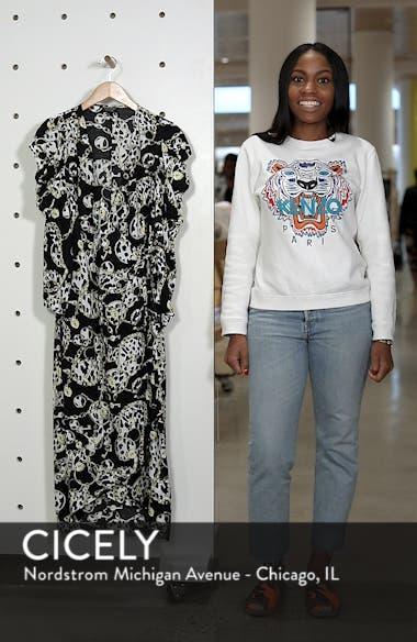 Chain Jacquard Midi Dress, sales video thumbnail
