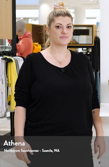 Stripe Handkerchief Hem Satin Dress, sales video thumbnail