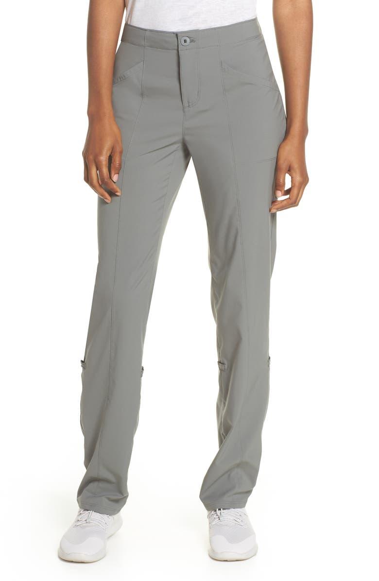 PATAGONIA High Spy Hiking Pants, Main, color, CAVE GREY