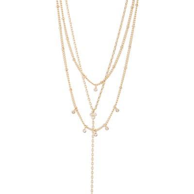 Jules Smith Selina Layered Lariat Necklace