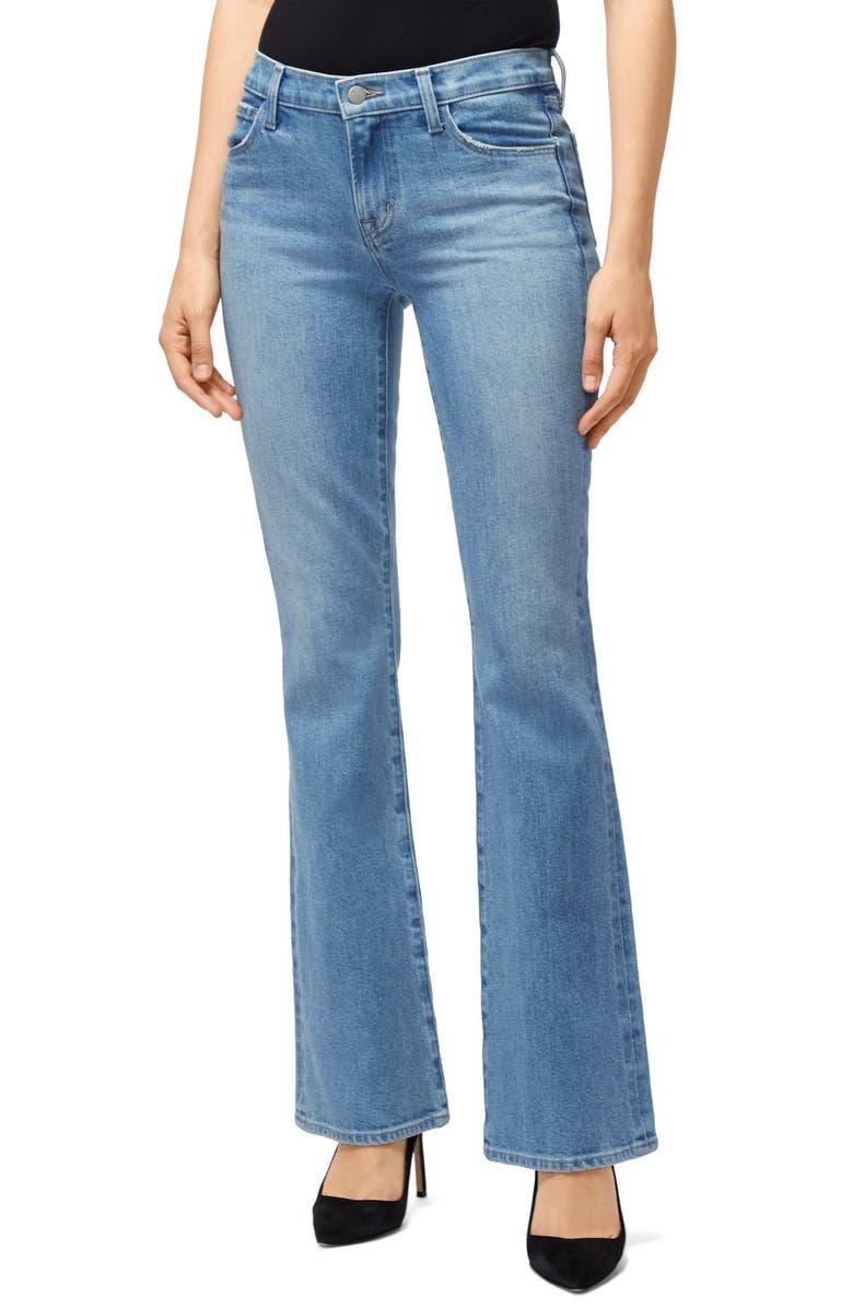 J BRAND Sallie Bootcut Jeans, Main, color, 400