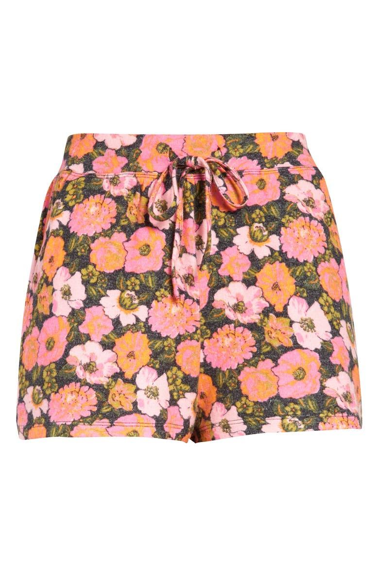 BP. Cozy Shorts, Main, color, BLACK WILDFLOWER