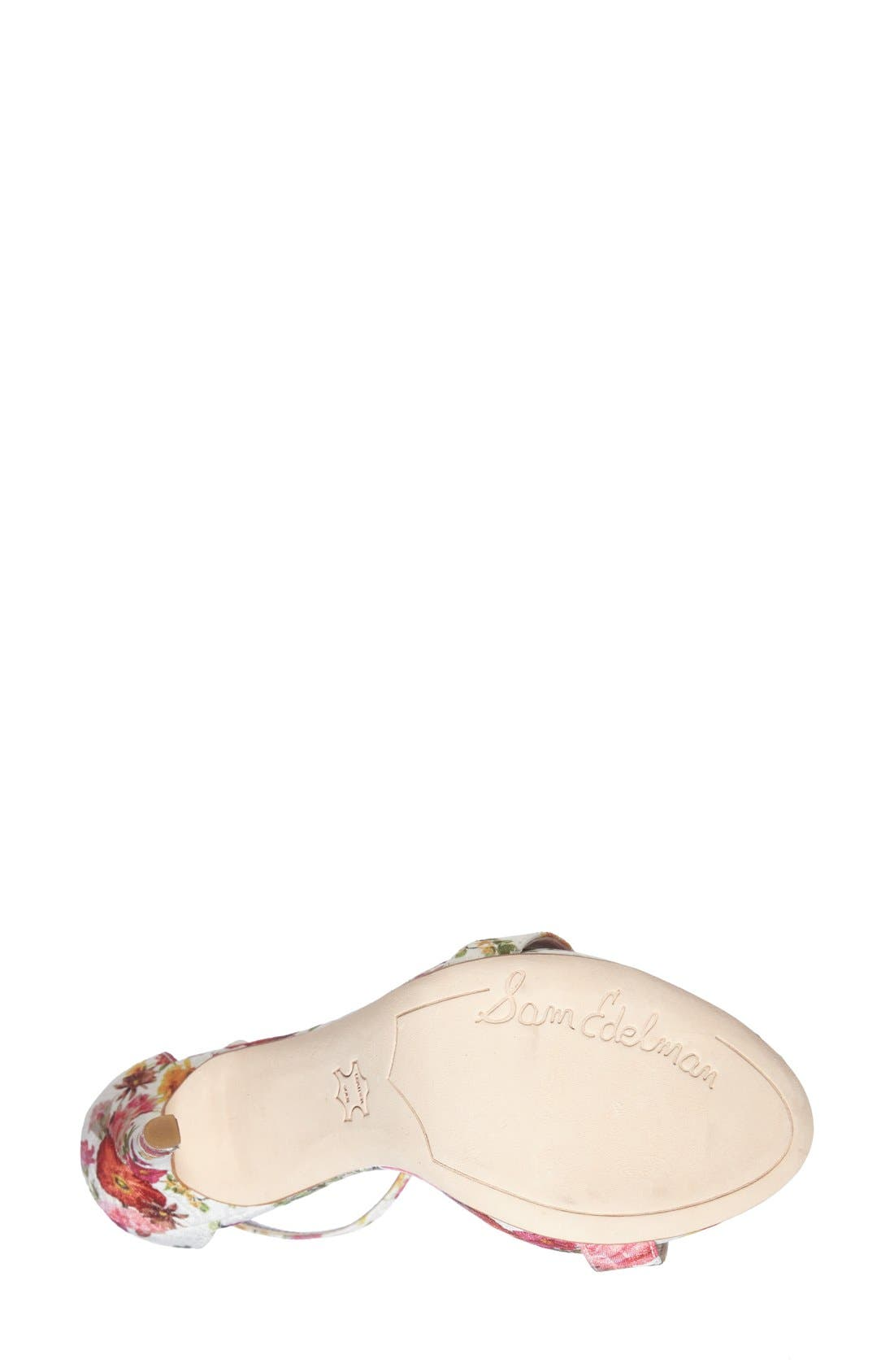 ,                             'Eleanor' Ankle Strap Sandal,                             Alternate thumbnail 87, color,                             101