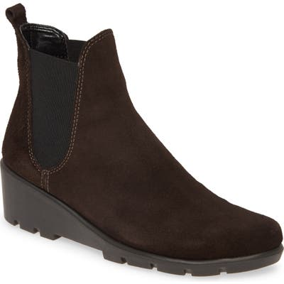 The Flexx Slimmer Chelsea Wedge Boot, Brown