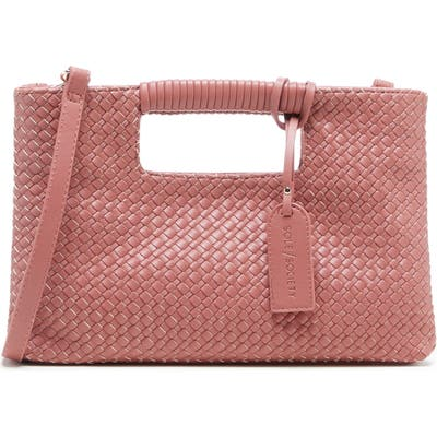 Sole Society Ady Faux Leather Crossbody Bag - Pink