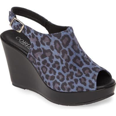 Cordani Leesa Wedge Sandal - Blue