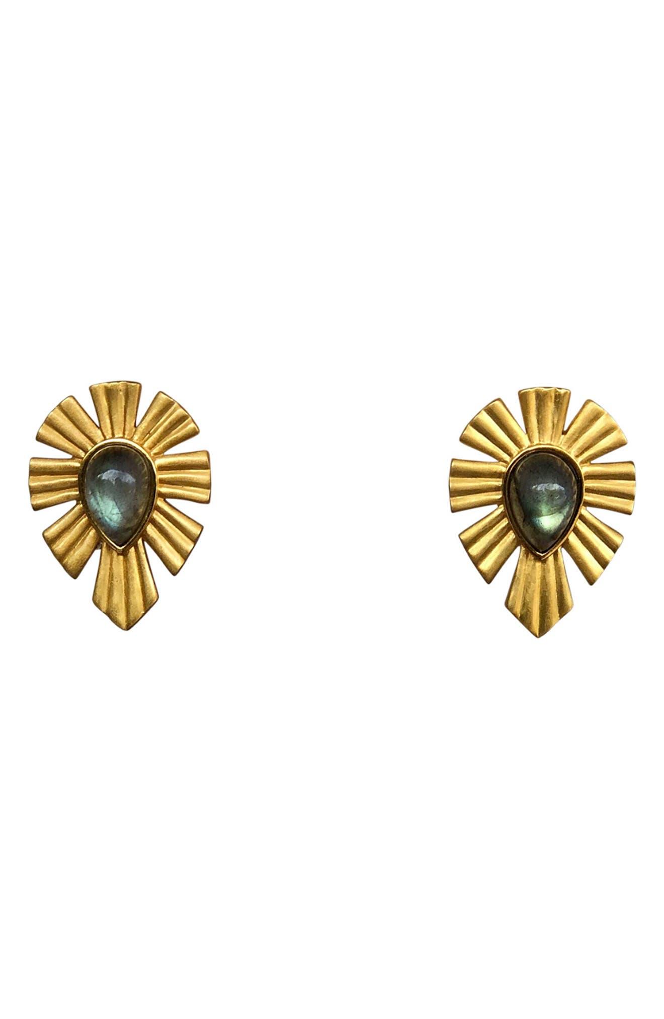 Gold & Bold Stud Earrings