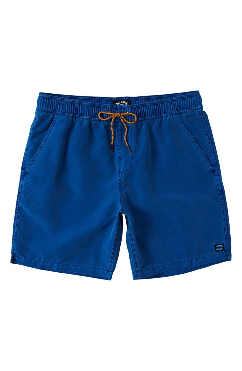 BILLABONG All Day Layback Swim Trunks, Main, color, AQUA