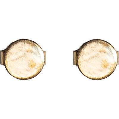 Nashelle Button Stud Earrings