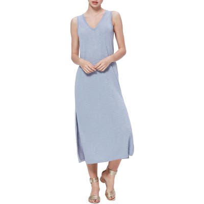 Paige Sage Midi Dress, Blue