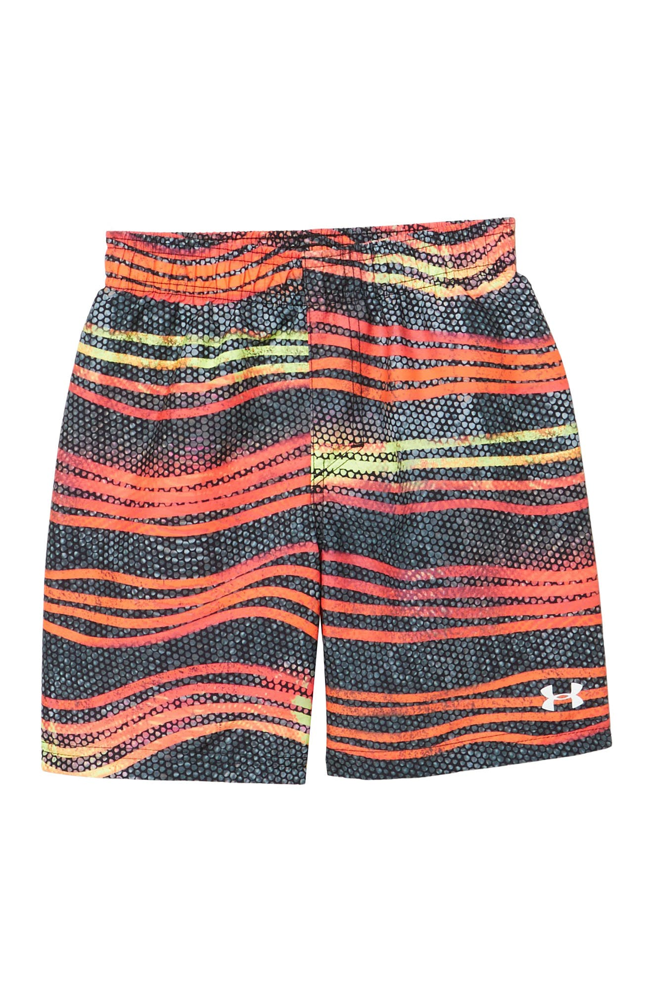 Image of Under Armour Atomic Wave Stripe Volley Shorts