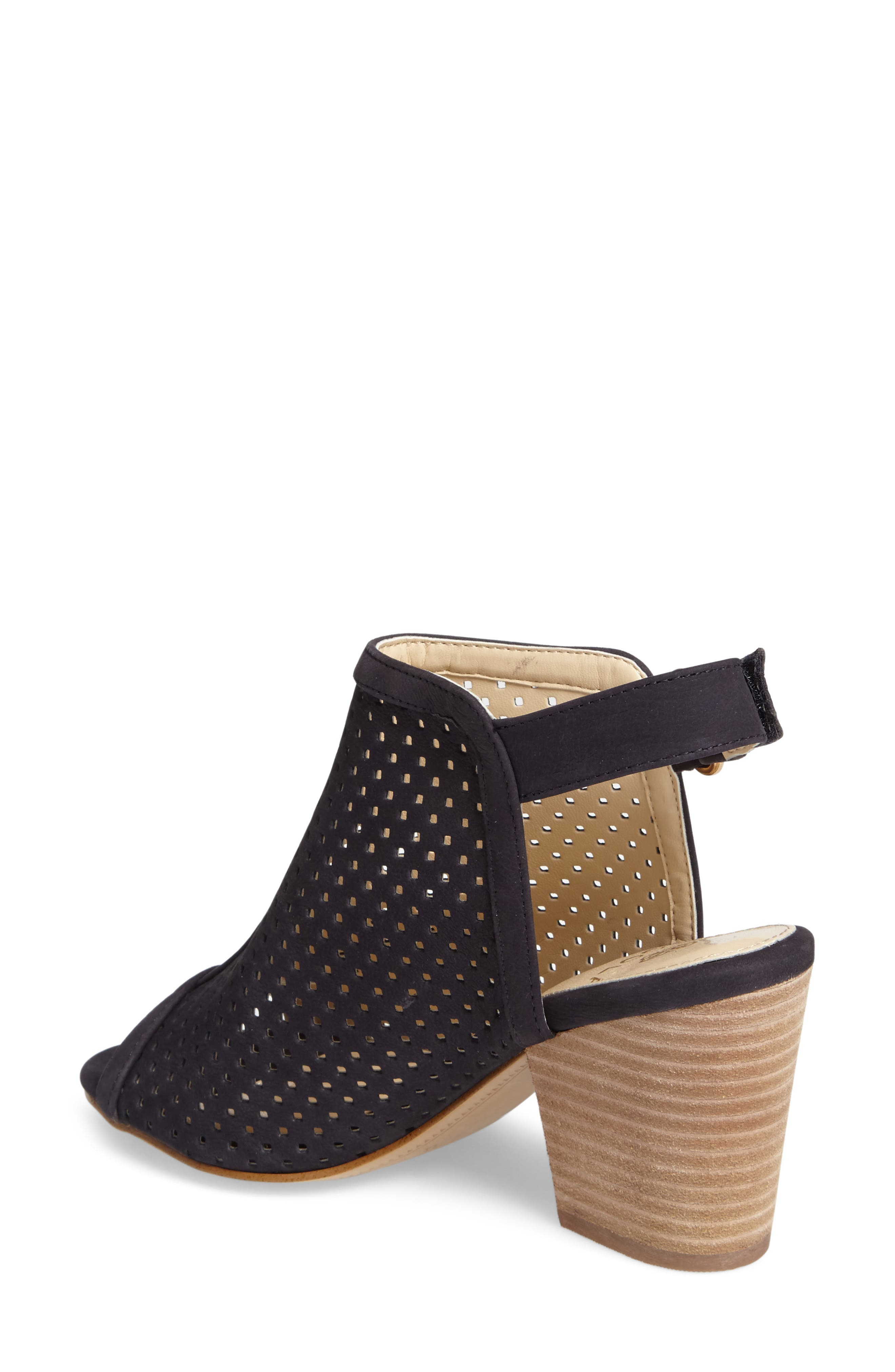 ,                             'Lora' Perforated Open-Toe Bootie Sandal,                             Alternate thumbnail 19, color,                             410
