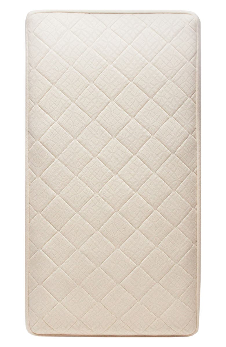 NATUREPEDIC Ultra Breathable 2-Stage Crib Mattress, Main, color, NATURAL