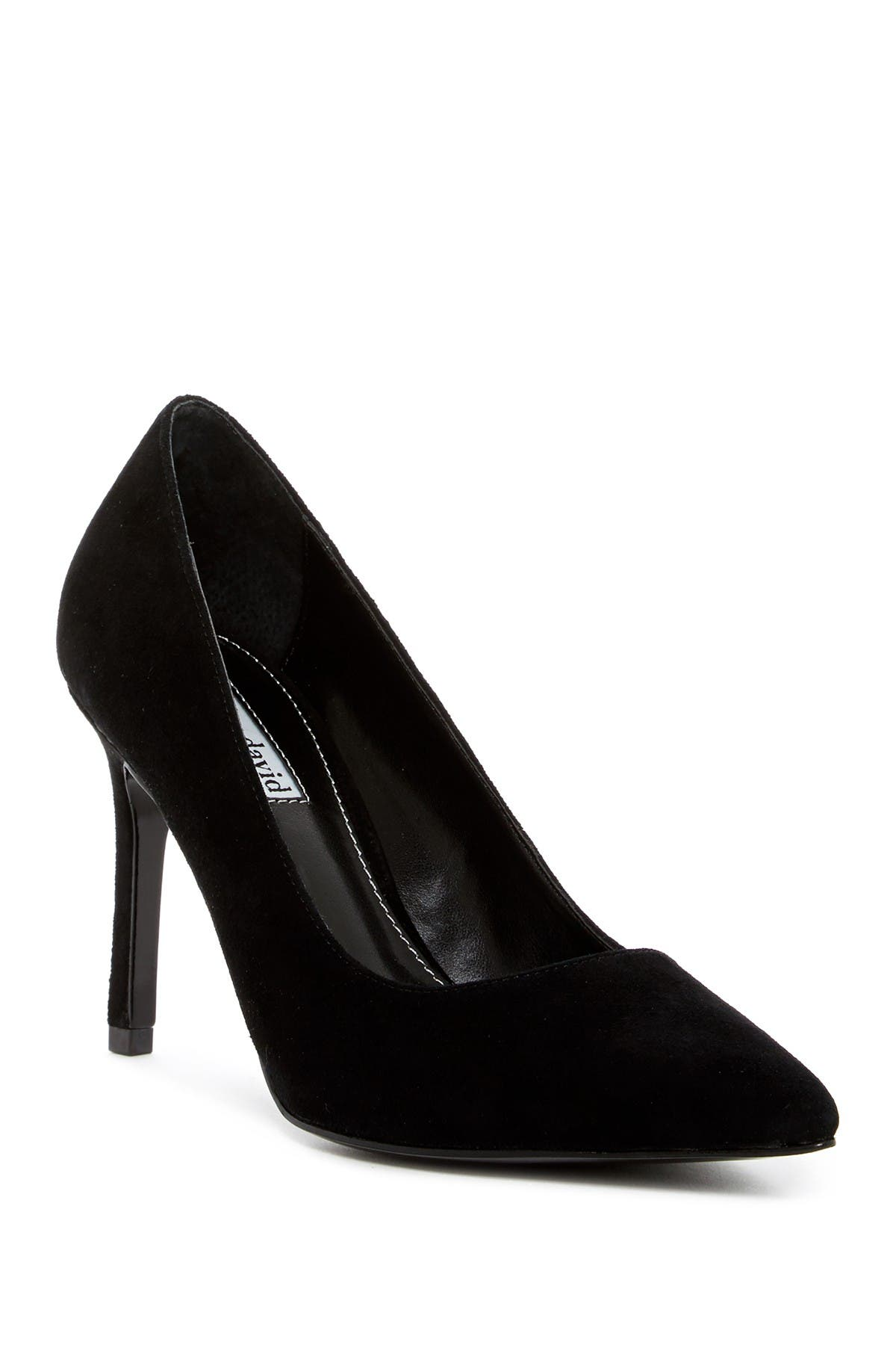 Image of Charles David Denise Pointed Toe Suede Pump