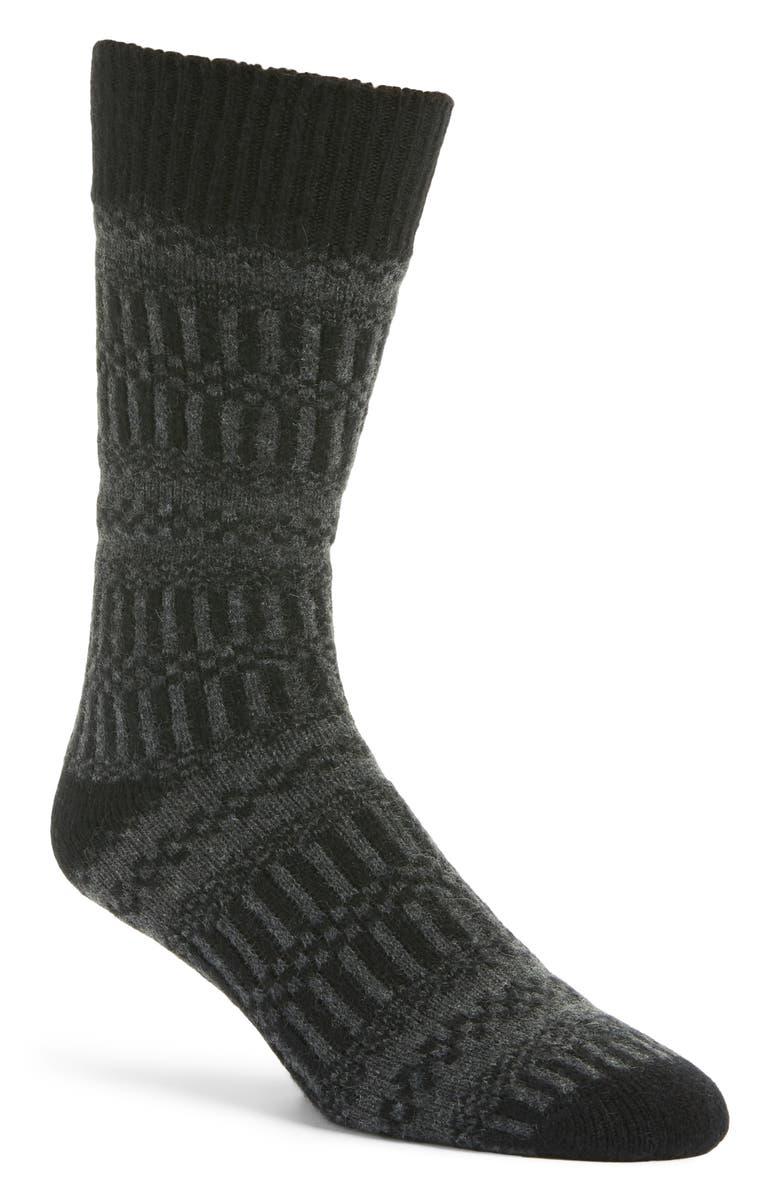NORDSTROM SIGNATURE Cashmere Blend Socks, Main, color, 021