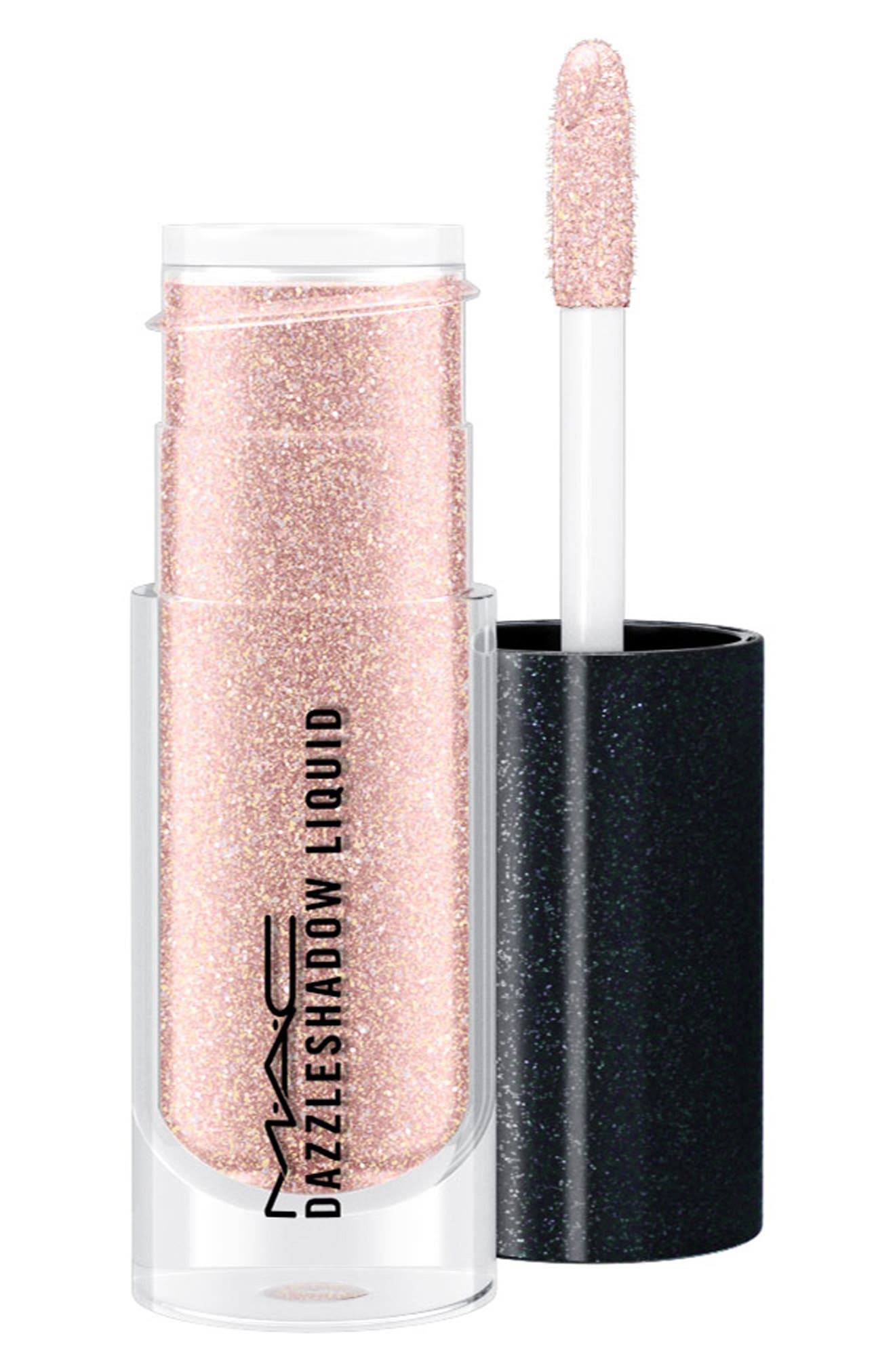 What it is: An ultra-shiny liquid eyeshadow that glides across lids for a wash of brilliant color and keeps its splendor for up to eight hours. What it does: Get lost in eyes that tantalize, mesmerize and glamorize. This cooling formula sets quickly for the ultimate second-skin texture that feels ultrasoft on your lids. The long-wearing formula lasts for up to eight hours and provides even color payoff while delivering stay-true color and a