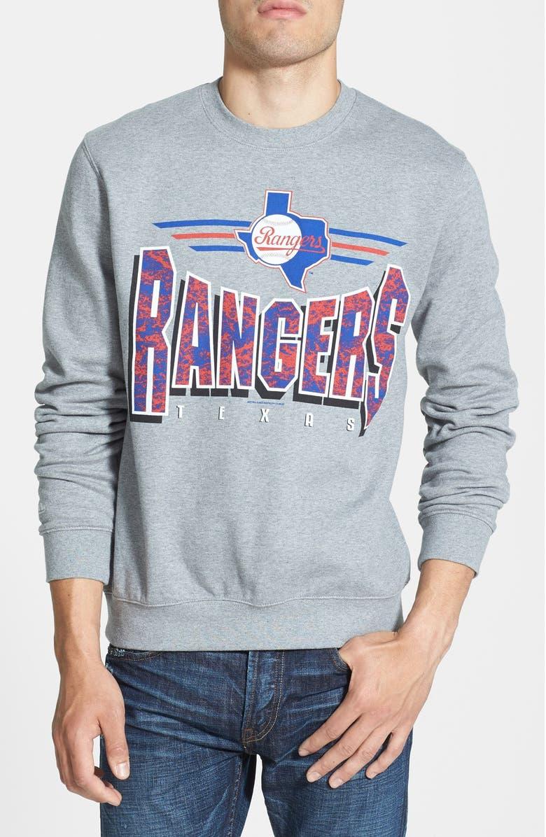 best sneakers e6ce6 07a5d Mitchell & Ness 'Texas Rangers' Crewneck Sweatshirt | Nordstrom