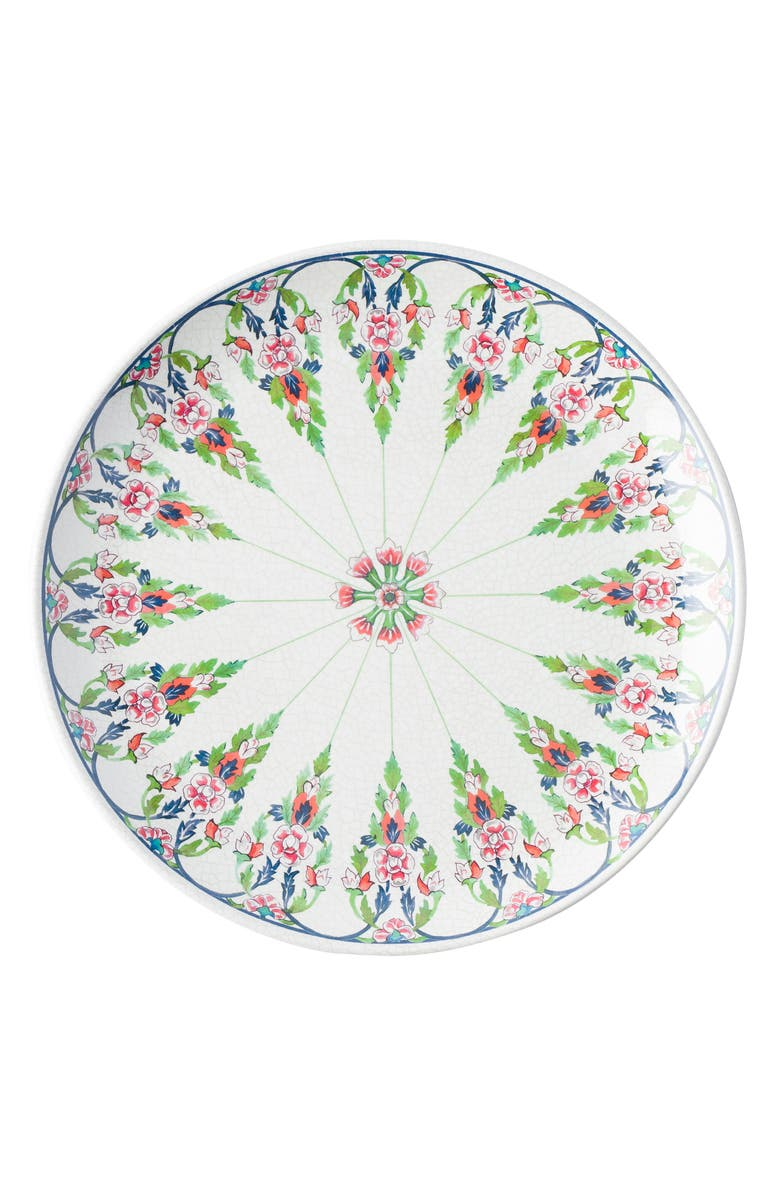 JULISKA Lalana Floral Melamine Dinner Plate, Main, color, WHITE MULTI