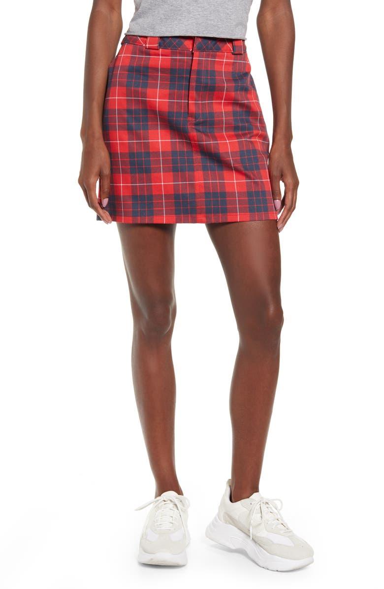 DICKIES Tartan Work Skirt, Main, color, 600