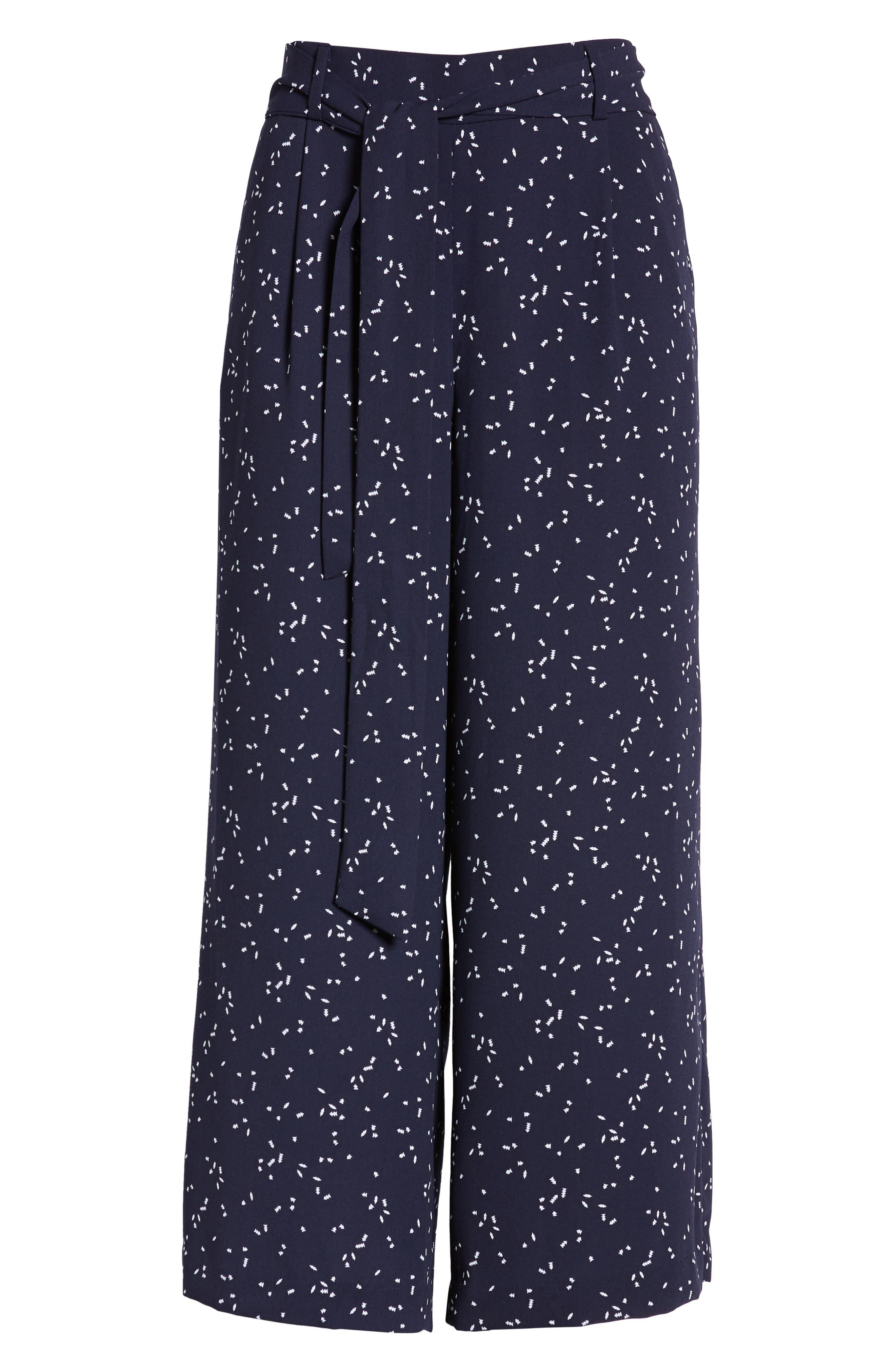 ,                             Wide Leg Crop Pants,                             Alternate thumbnail 70, color,                             414