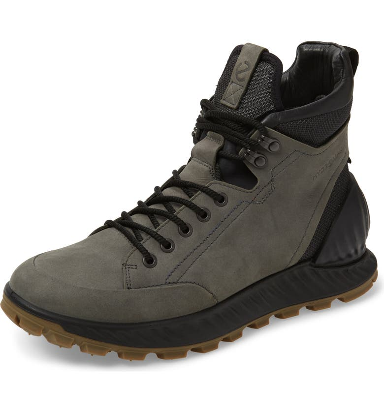 ECCO Exostrike HYDROMAX<sup>®</sup> Boot, Main, color, DARK SHADOW LEATHER