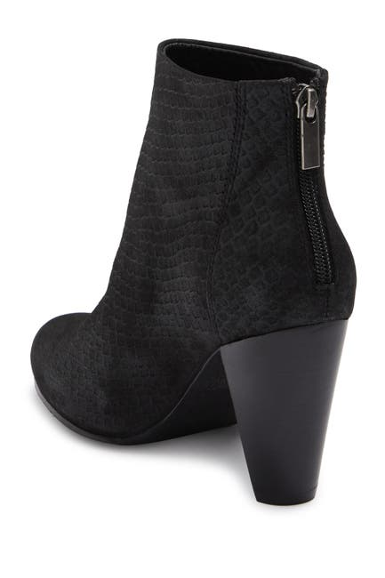 Image of Seychelles Nothing Was The Same Snakeskin Embossed Leather Ankle Bootie