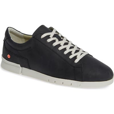 Softinos By Fly London Cer Low-Top Sneaker, Black