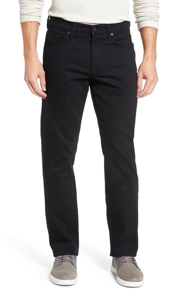 MAVI JEANS Matt Relaxed Fit Jeans, Main, color, BLACK WILLIAMSBURG