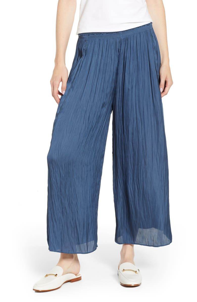 NIC+ZOE Destination Pants, Main, color, INDIGO SEA