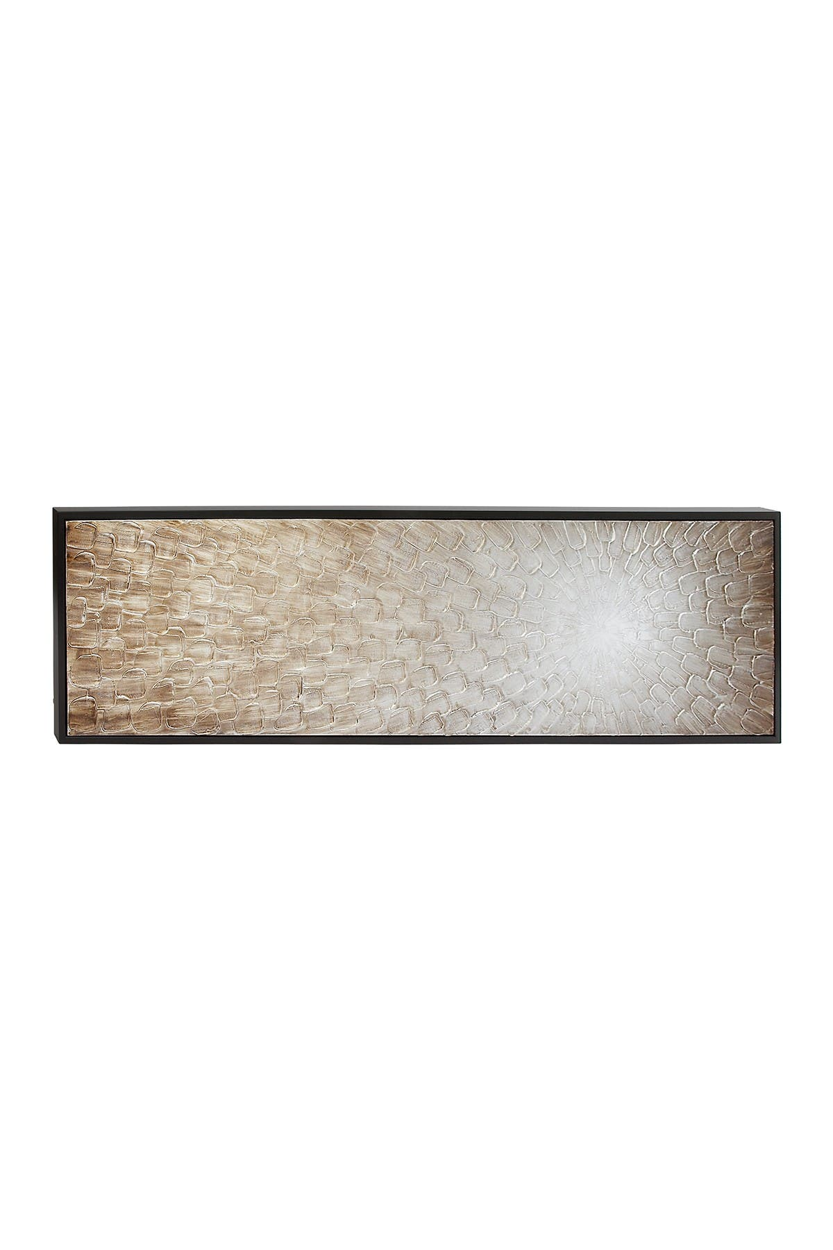 Willow Row Modern Framed Brown Radial Abstract Canvas Art at Nordstrom Rack