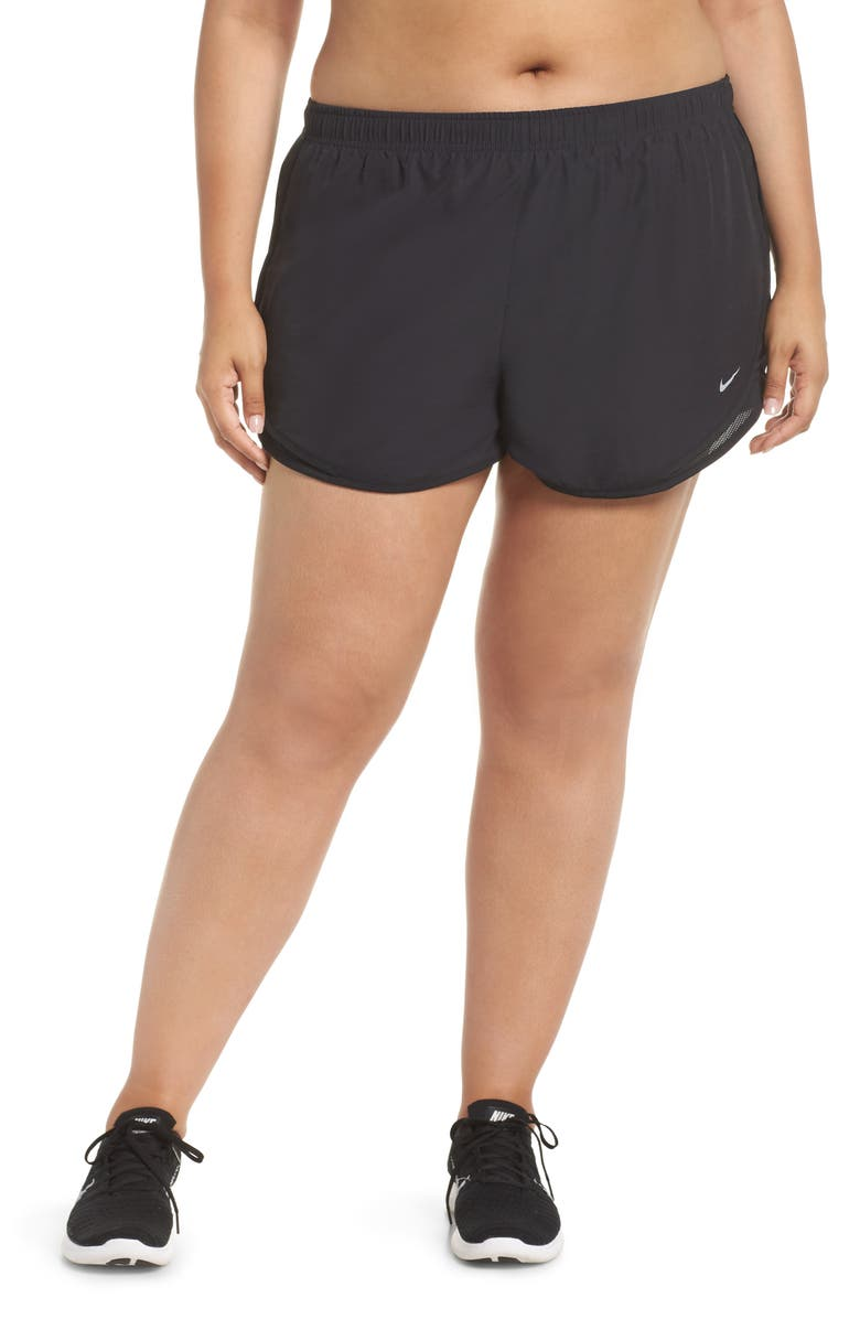 NIKE Dry Tempo High Rise Running Shorts, Main, color, 002