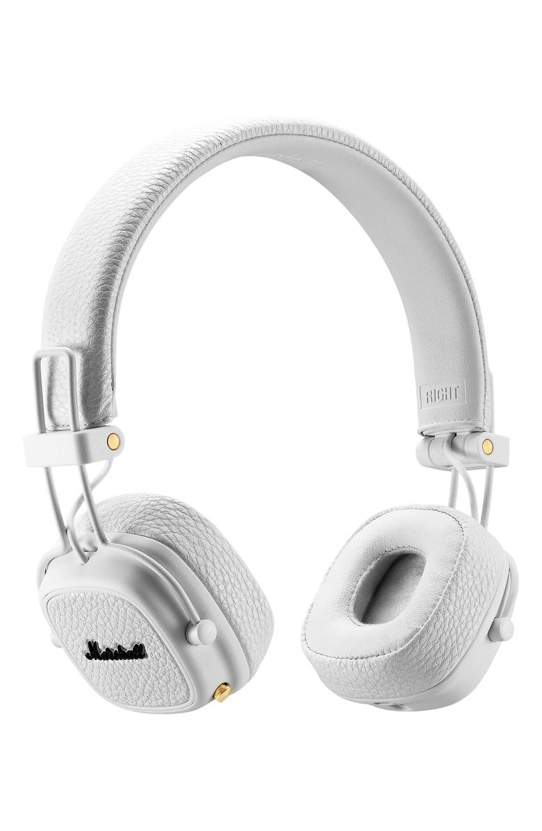 MARSHALL Major III Bluetooth<sup>®</sup> Over-Ear Headphones, Main, color, WHITE