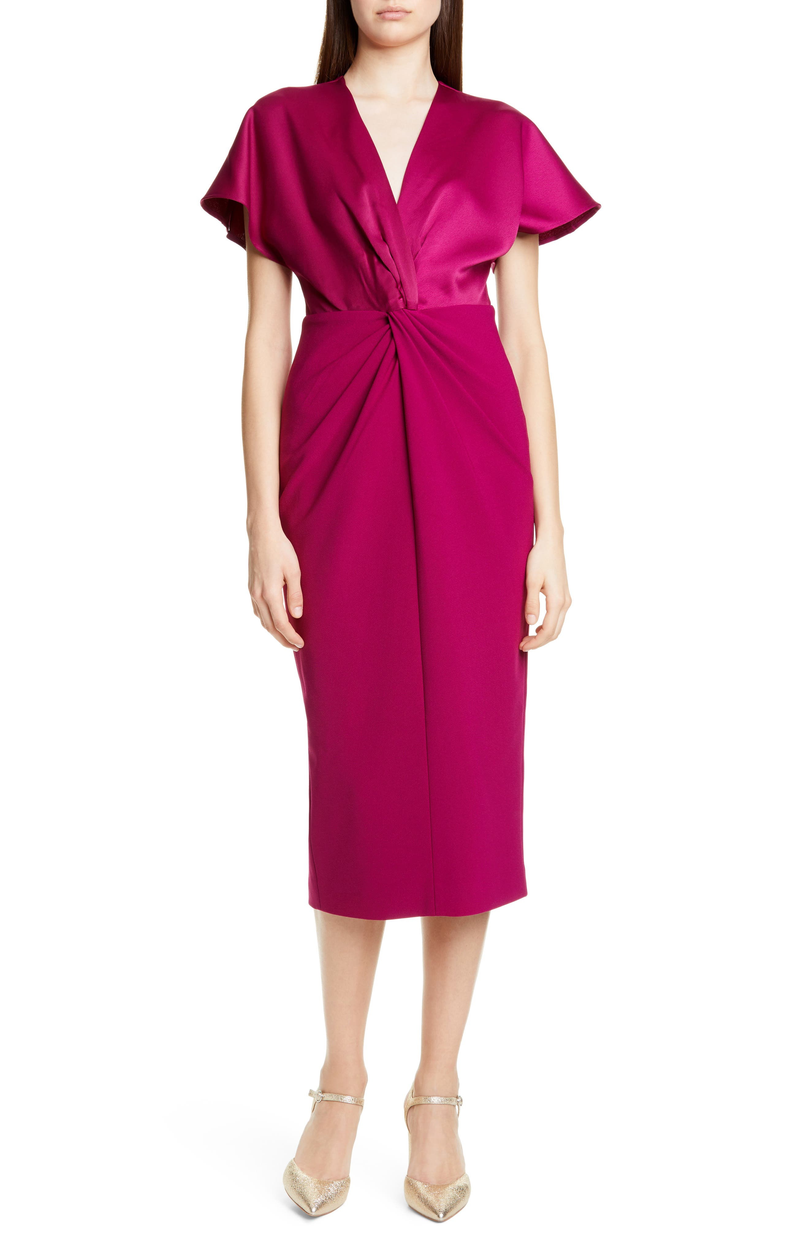 Ted Baker London Ellame Sheath Dress, Pink
