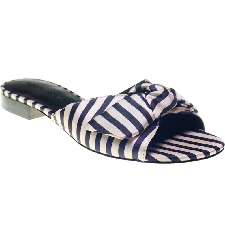 CUPCAKES AND CASHMERE Yazia Sandal, Main, color, BLACK-CREAM FABRIC