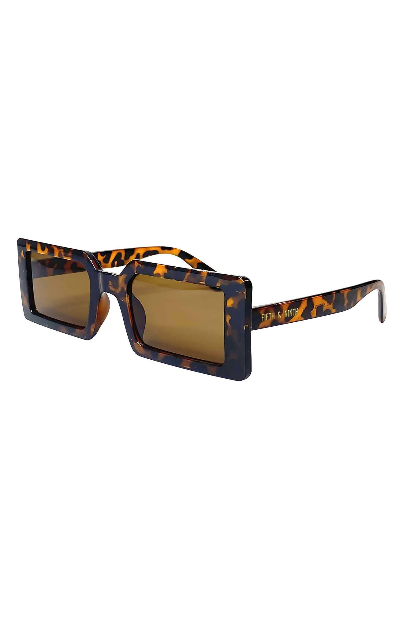 Berlin 63mm Rectangle Sunglasses