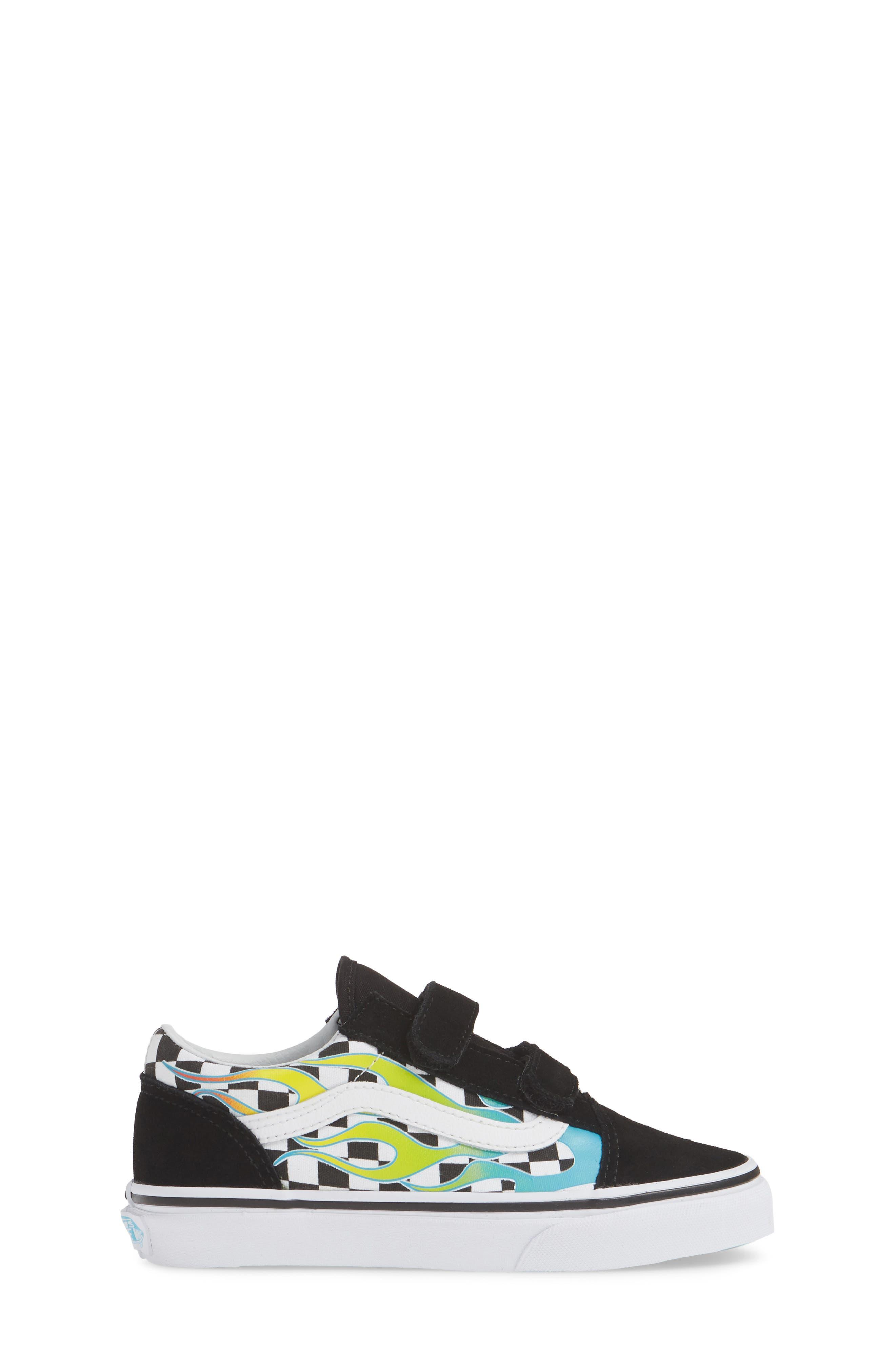 ,                             Old Skool V Sneaker,                             Alternate thumbnail 3, color,                             SCUBA BLUE/ BLACK