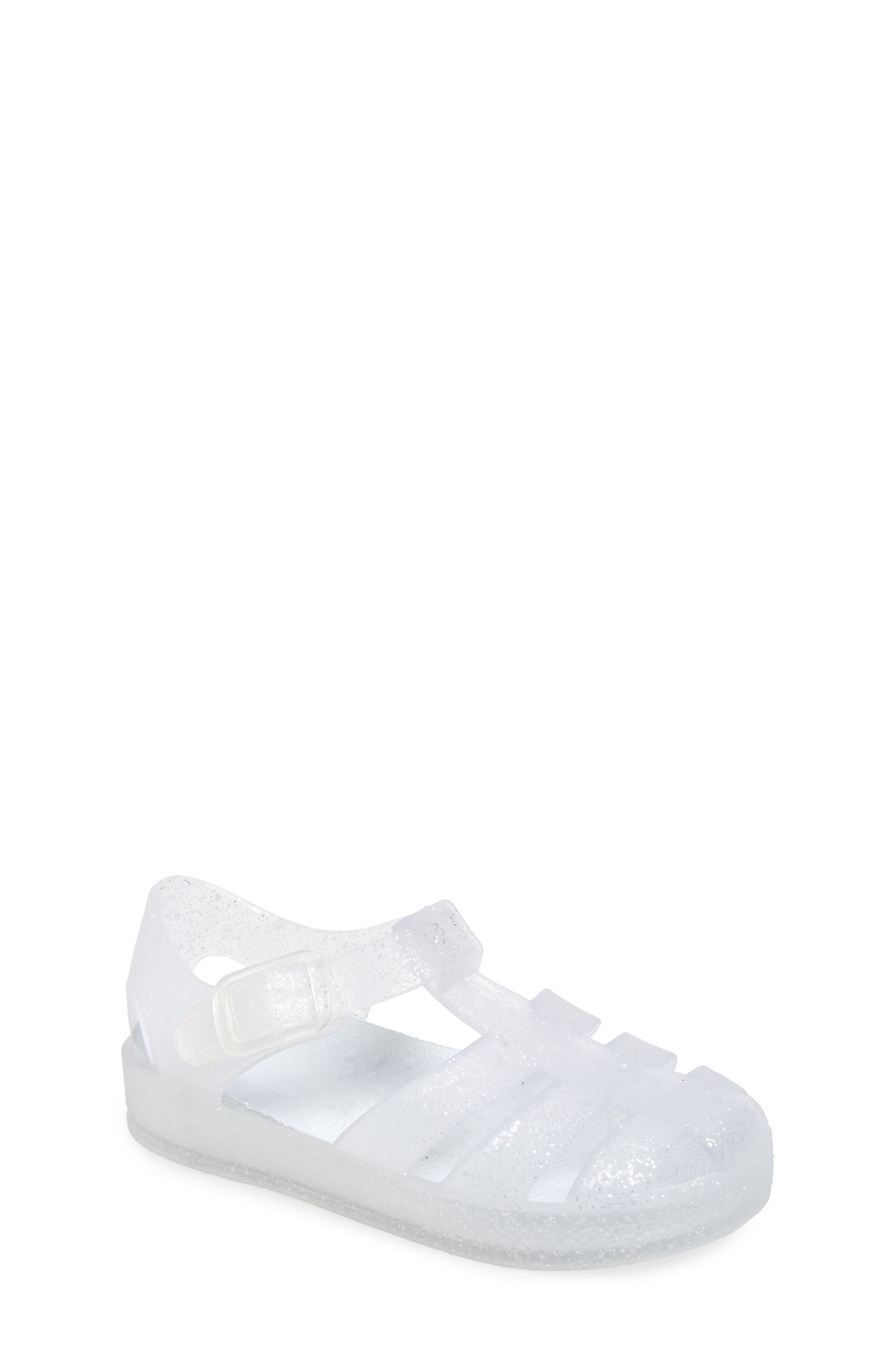 This wear-everywhere jelly shoe brings sweet nostalgia to your little one\\\'s summery look. Style Name: Tucker + Tate Fisherman Jelly Sandal (Walker & Toddler). Style Number: 5976259 1. Available in stores.