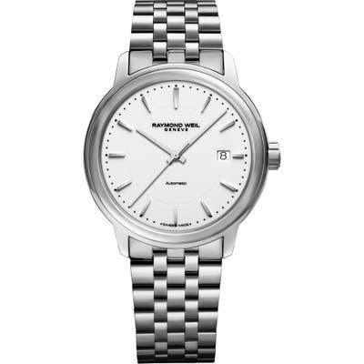 Raymond Weil Maestro Automatic Bracelet Watch, 39.5Mm