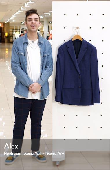 Jetsetter Slim Fit Stretch Wool Sport Coat, sales video thumbnail