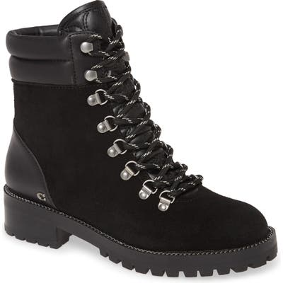Coach Lorren Hiker Boot- Black