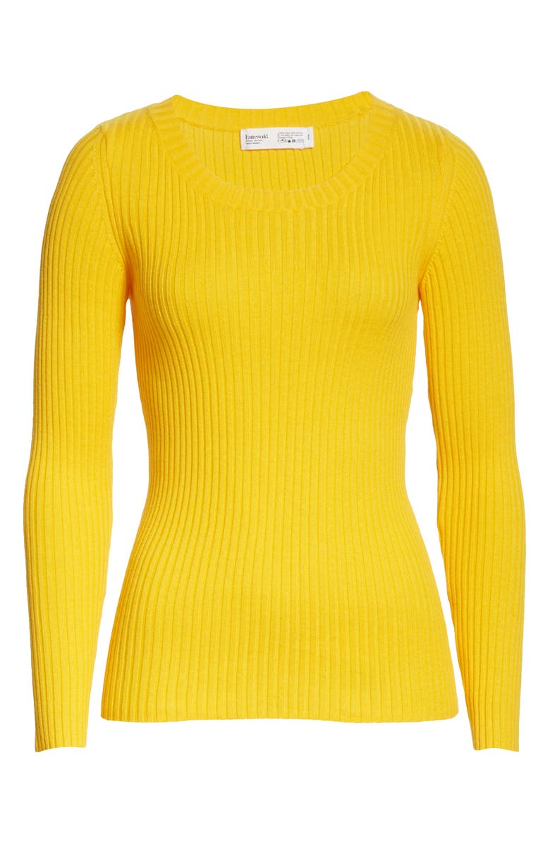 ENTIREWORLD Type A Version 7 Sweater, Main, color, YELLOW
