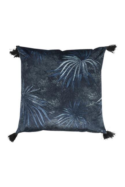 Image of EIGHTMOOD Tassel Trim Throw Pillow - Warm Forest
