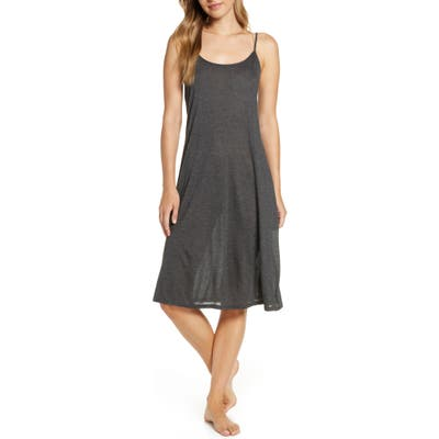 Natori Jersey Nightgown, Grey (Nordstrom Exclusive)