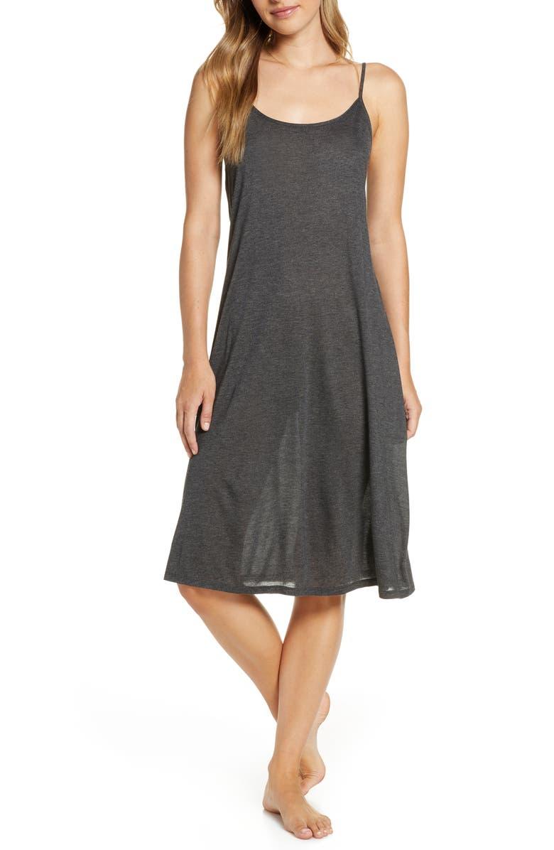 NATORI Jersey Nightgown, Main, color, ATH ANTHRACITE