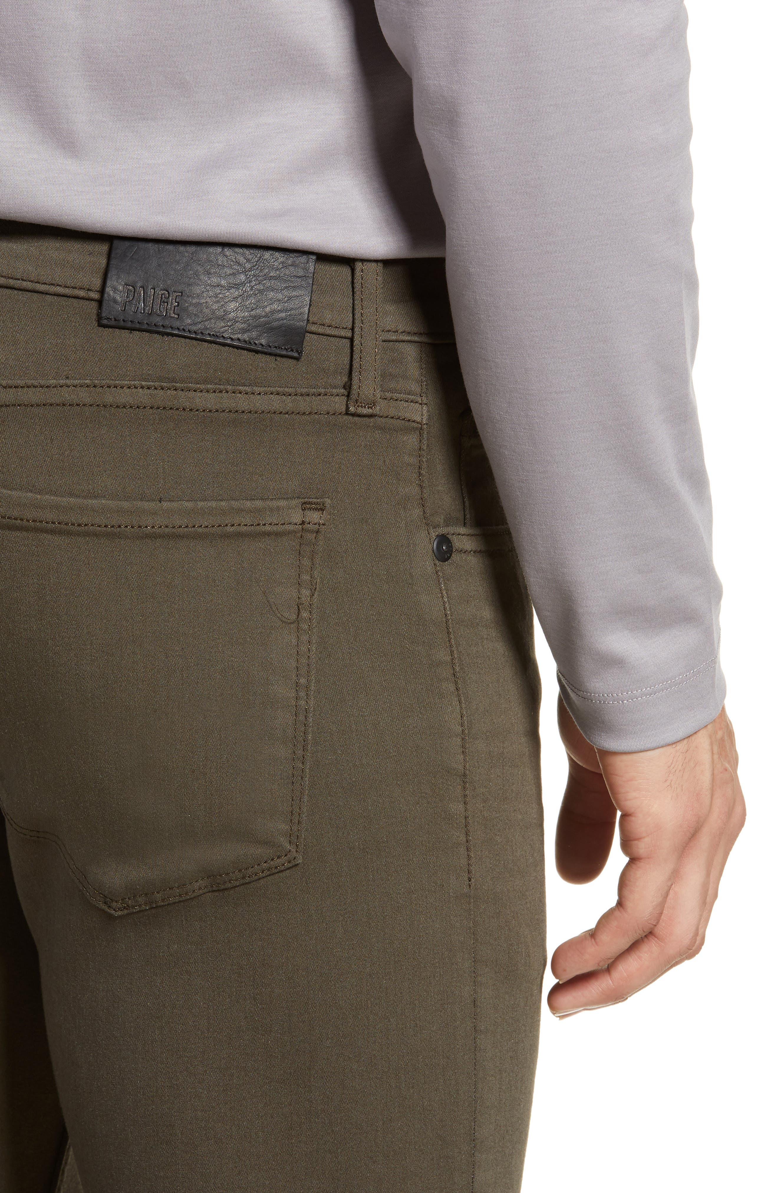 ,                             Transcend - Lennox Slim Fit Jeans,                             Alternate thumbnail 5, color,                             RIVER MOSS