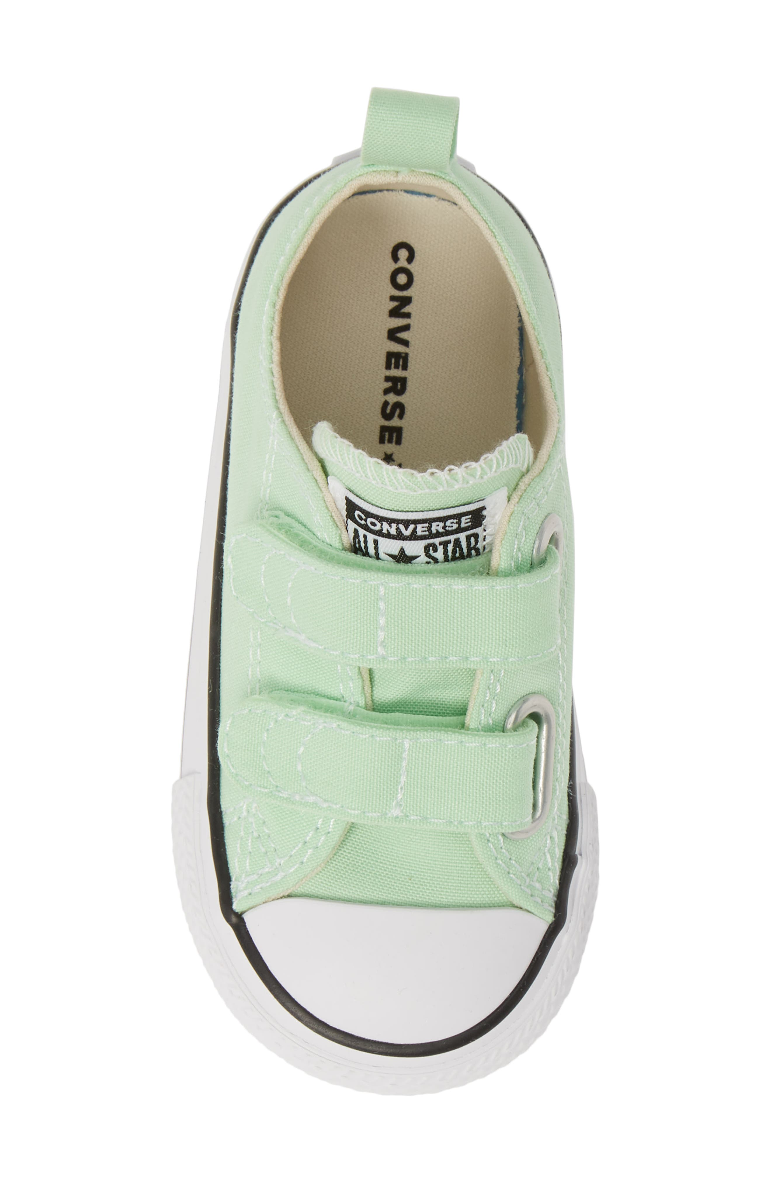 ,                             Chuck Taylor<sup>®</sup> 'Double Strap' Sneaker,                             Alternate thumbnail 5, color,                             LT. APHID GREEN